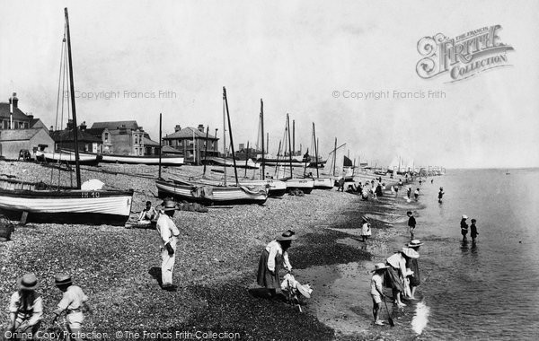 Aldeburgh, The Beach 1906
