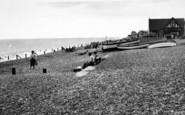 Aldeburgh, The Beach c.1955