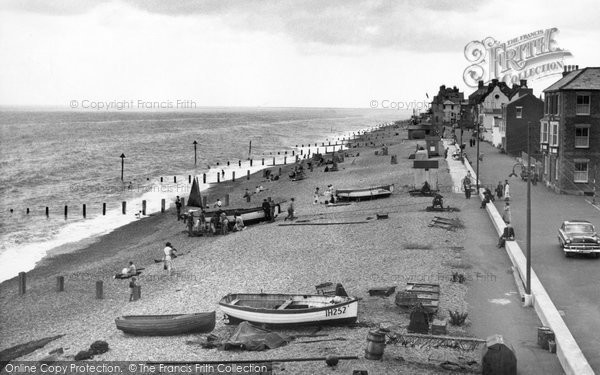 Aldeburgh, The Beach c.1955