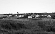 Aldeburgh, The Caravan Site c.1960