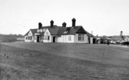 Aldeburgh, The Golf Clubhouse c.1955