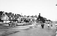 Aldeburgh, The Kiddies Pool And Promenade c.1965