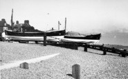 Aldeburgh, The Lifeboats c.1955