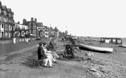 Aldeburgh, The Parade And Beach 1929