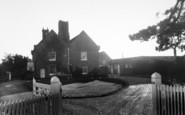 Aldeburgh, The Red House c.1960