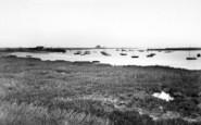 Aldeburgh, The River Alde c.1960