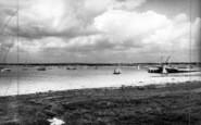 Aldeburgh, The River Alde c.1965