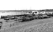 Aldeburgh, The Yacht Club c.1955