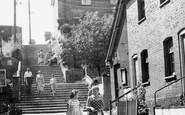 Aldeburgh, Town Steps c.1960