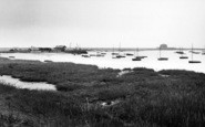 Aldeburgh, Yacht Club And Martello Tower c.1960