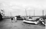 Aldeburgh, Yachting Harbour c.1965