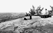Alderley Edge, Castle Rock c.1955