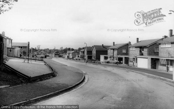 Alderley Edge, Eaton Drive c.1965