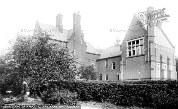 Alderley Edge, High School 1896
