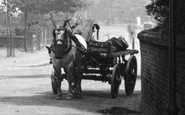 Alderley Edge, Horse And Cart 1896