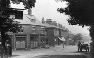 Alderley Edge, Shop In London Road 1896