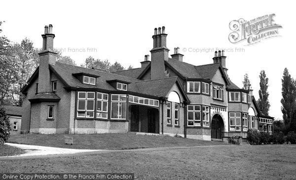 Alderley Edge, The Cottage Hospital c.1955