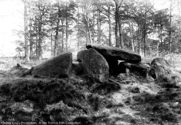 Alderley Edge, The Stone Table Of The Wizard 1896