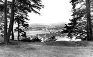 Alderley Edge, The View From Stormy Point c.1955