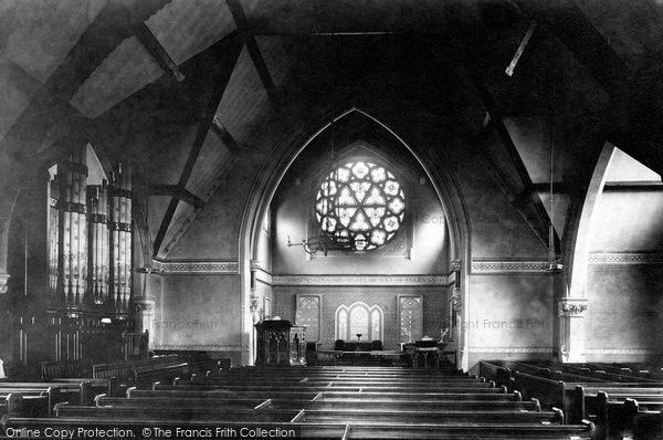 Alderley Edge, The Wesleyan Chapel, The Interior 1896