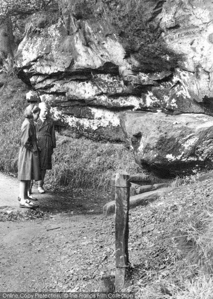 Alderley Edge, The Wizard's Well c.1955