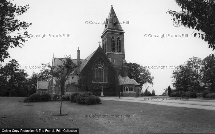 Aldershot, All Saints (Garrison) Church c.1965