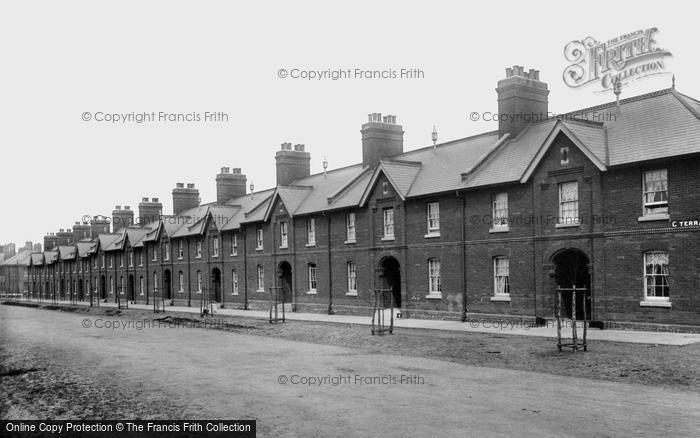 Aldershot, 'c' Terrace 1896
