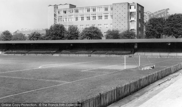 Aldershot, Football Ground c.1965