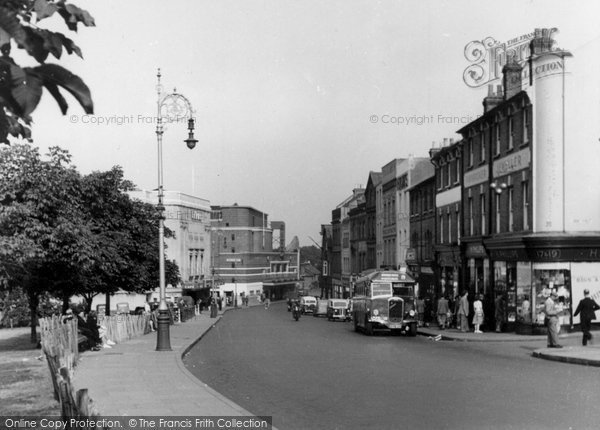 Photo of Aldershot, High Street c1955
