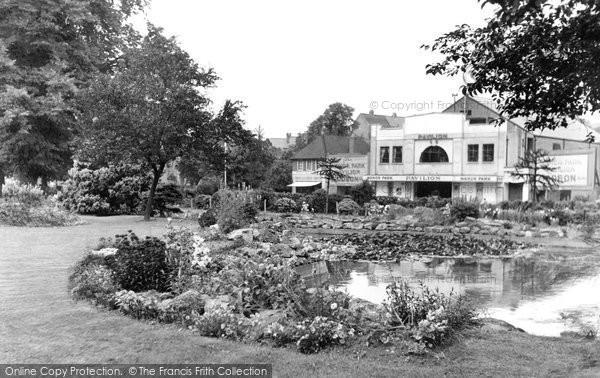 Aldershot, Manor Park c.1955