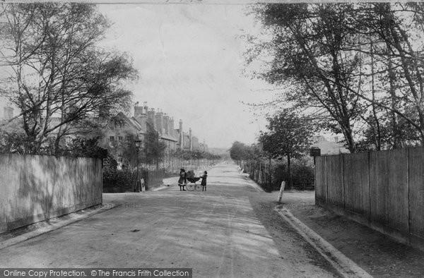 Aldershot, North Camp, Redvers Buller Road 1905