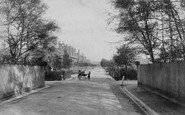 Aldershot, North Camp, Redvers Buller Road 1905