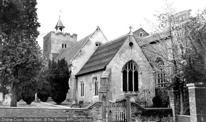 Aldershot, St Michael's Church c.1960