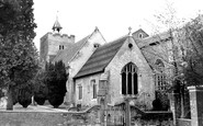 Aldershot, St Michael's Church c.1960