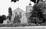 Aldershot, St Michael's Parish Church c1950
