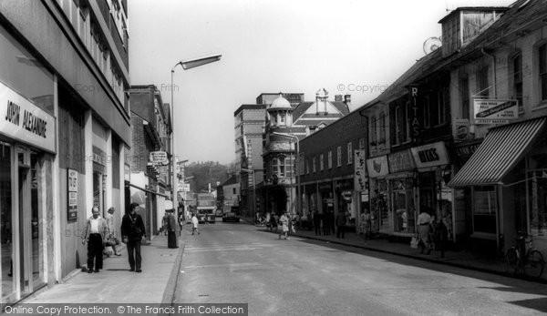 Aldershot, Station Road c.1965