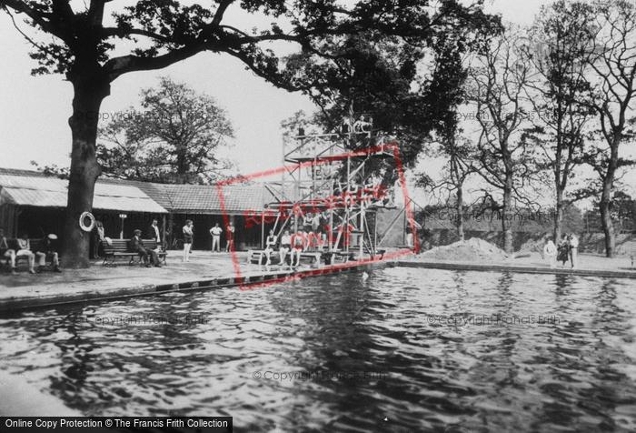 Aldershot Swimming Pool 1931 Francis Frith