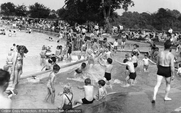 Aldershot, Swimming Pool c.1955