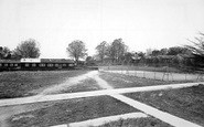 Aldershot, Tennis Courts And Sergeants Mess, Connaught Hospital c.1955