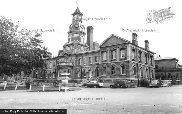 Aldershot, The Cambridge Military Hospital c.1965