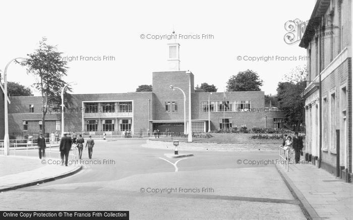 Aldershot, The Naafi c.1950