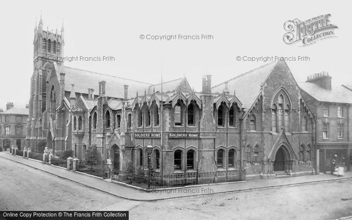 Aldershot, The Soldier's Home And Methodist Church 1897