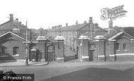 Aldershot, The Warburg Barracks Gates 1932