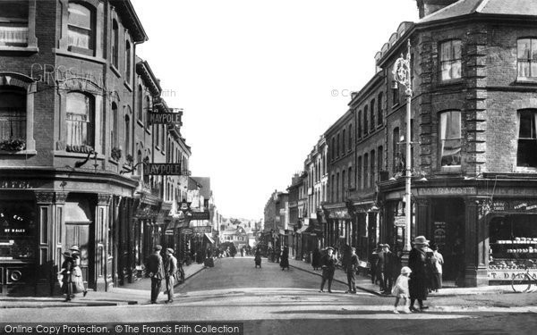 Aldershot, Union Street 1918