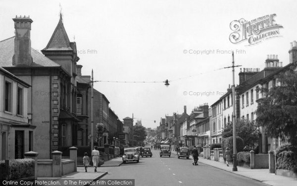 Photo of Aldershot, Victoria Road c1955
