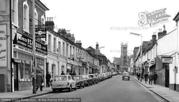 Photo of Aldershot, Victoria Road c1965