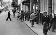 Aldershot, Victoria Road, People 1949