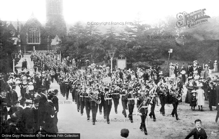 Aldershot, Wellington Avenue 1891
