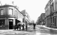 Aldershot, Wellington Street 1892