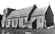 Alderton, St Andrew's Church c1955
